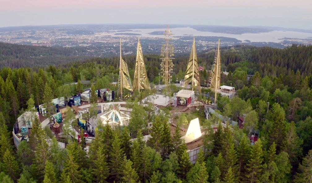Vebjørn Sand og Eimund Sand lager Roseslott til 50 millioner kroner i Holmekollen
