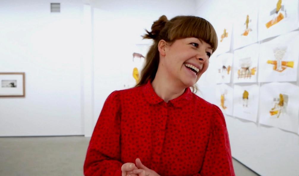 Anniken Storhaug sa opp jobben for å starte Galleri Dropsfabrikken i Trondheim