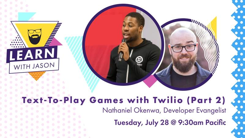Text-To-Play Games with Twilio (Part 2)!
