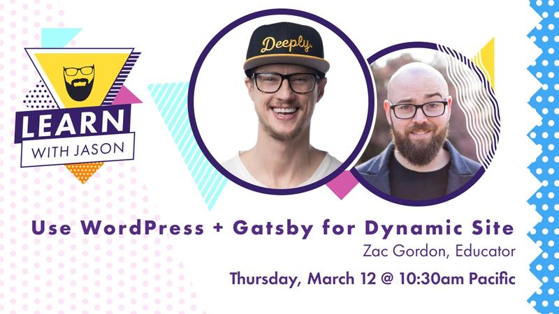 Use Gatsby & WordPress for Dynamic Sites