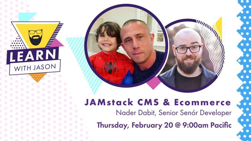 JAMstack CMS & Ecommerce