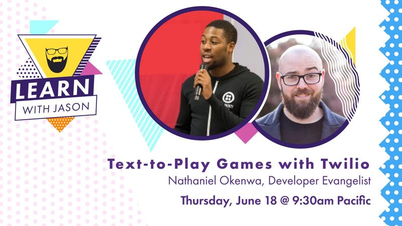 Text-To-Play Games with Twilio!