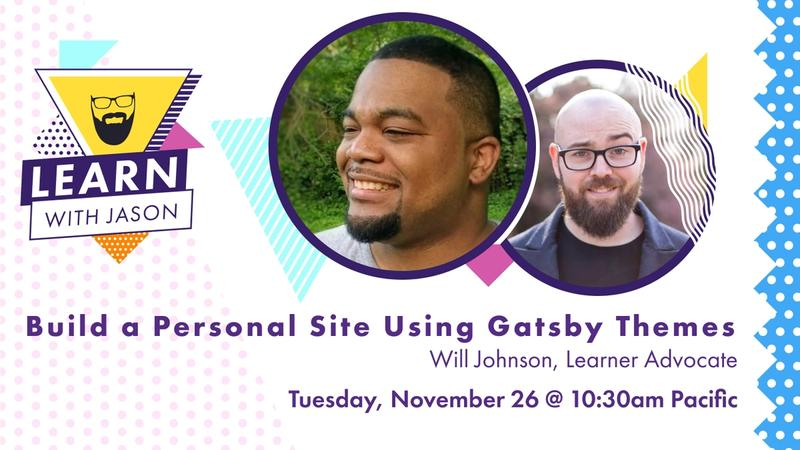 Build a Personal Site Using Gatsby Themes