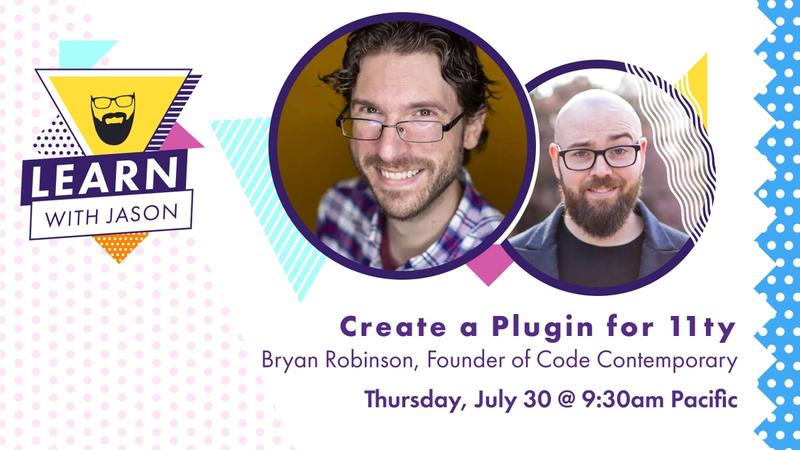 Create a Plugin for 11ty