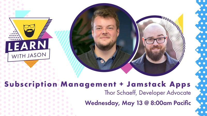 Subscription Management in Jamstack Apps