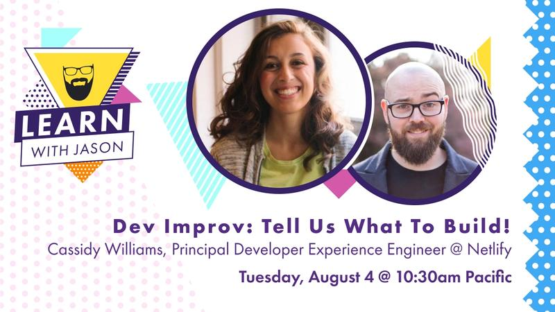 Dev Improv: Tell Us What To Build!