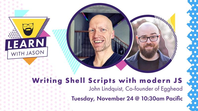 Writing Shell Scripts with Modern JavaScript