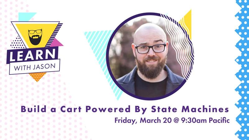 Build a Cart Powered by State Machines