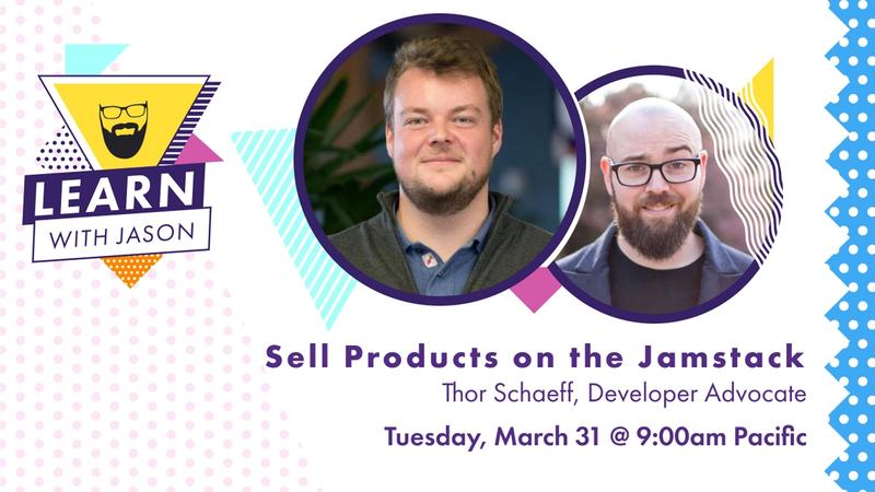 Sell Products on the JAMstack