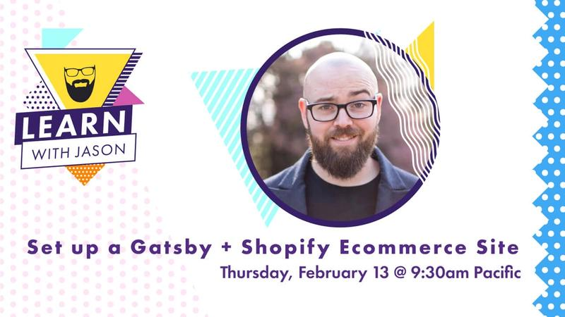 Set up a New Gatsby + Shopify Ecommerce Sites pt. 2