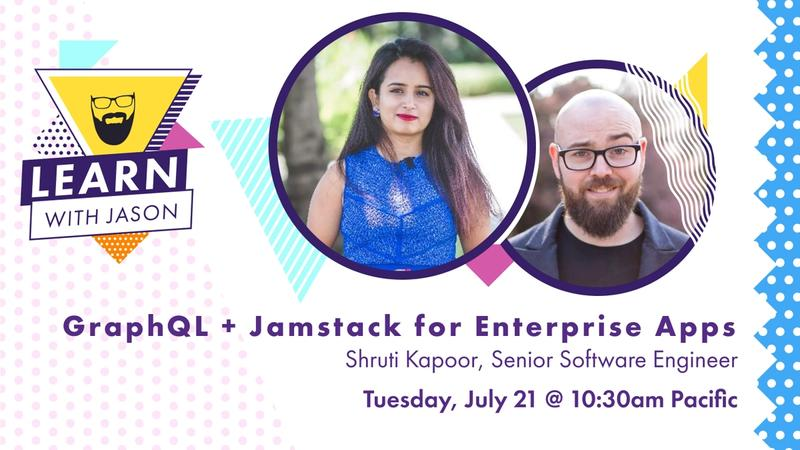 GraphQL + Jamstack for Enterprise Apps