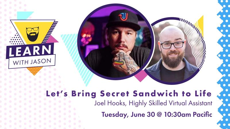 Let's Bring Secret Sandwich to Life!