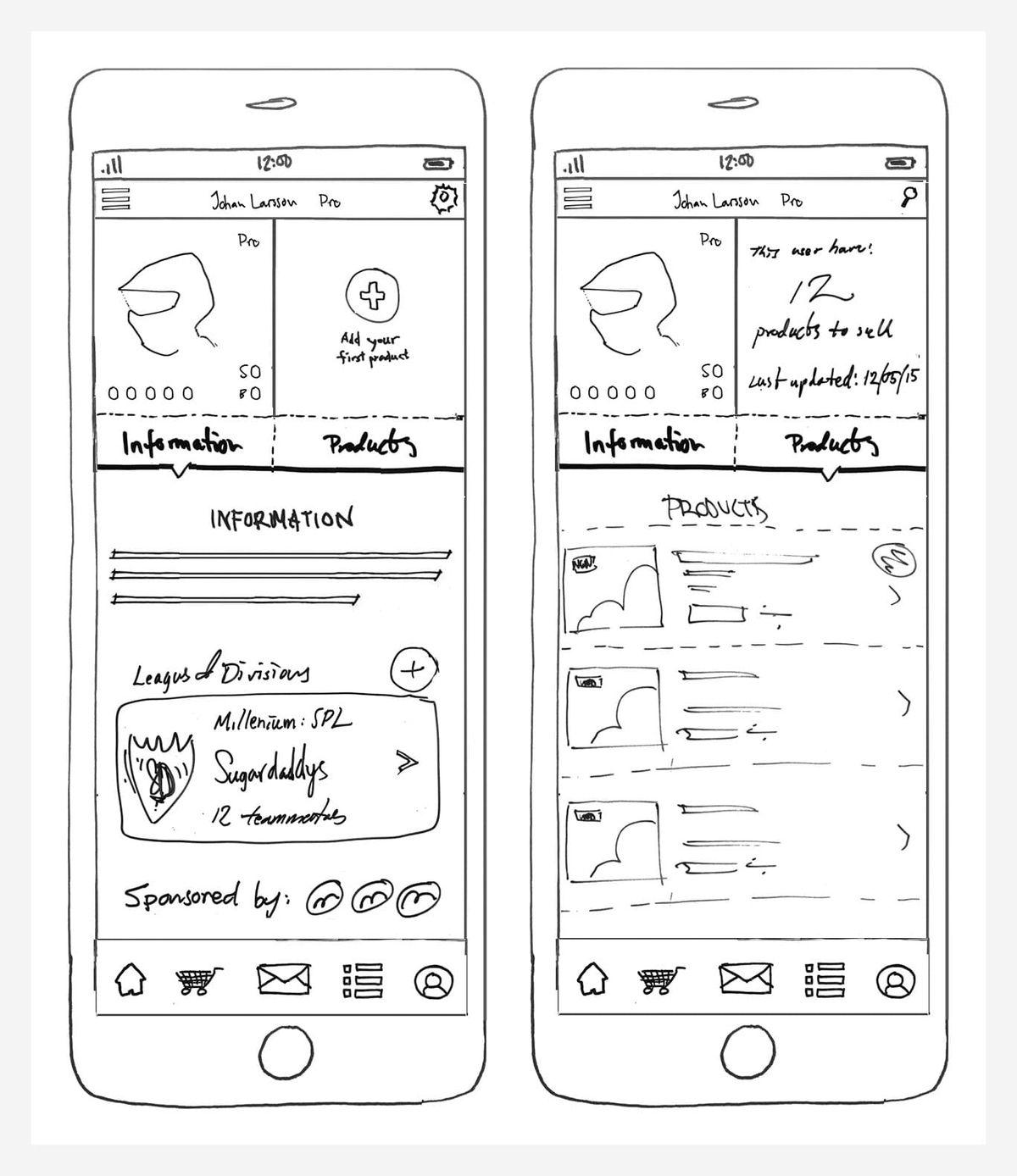 HBI app concepts