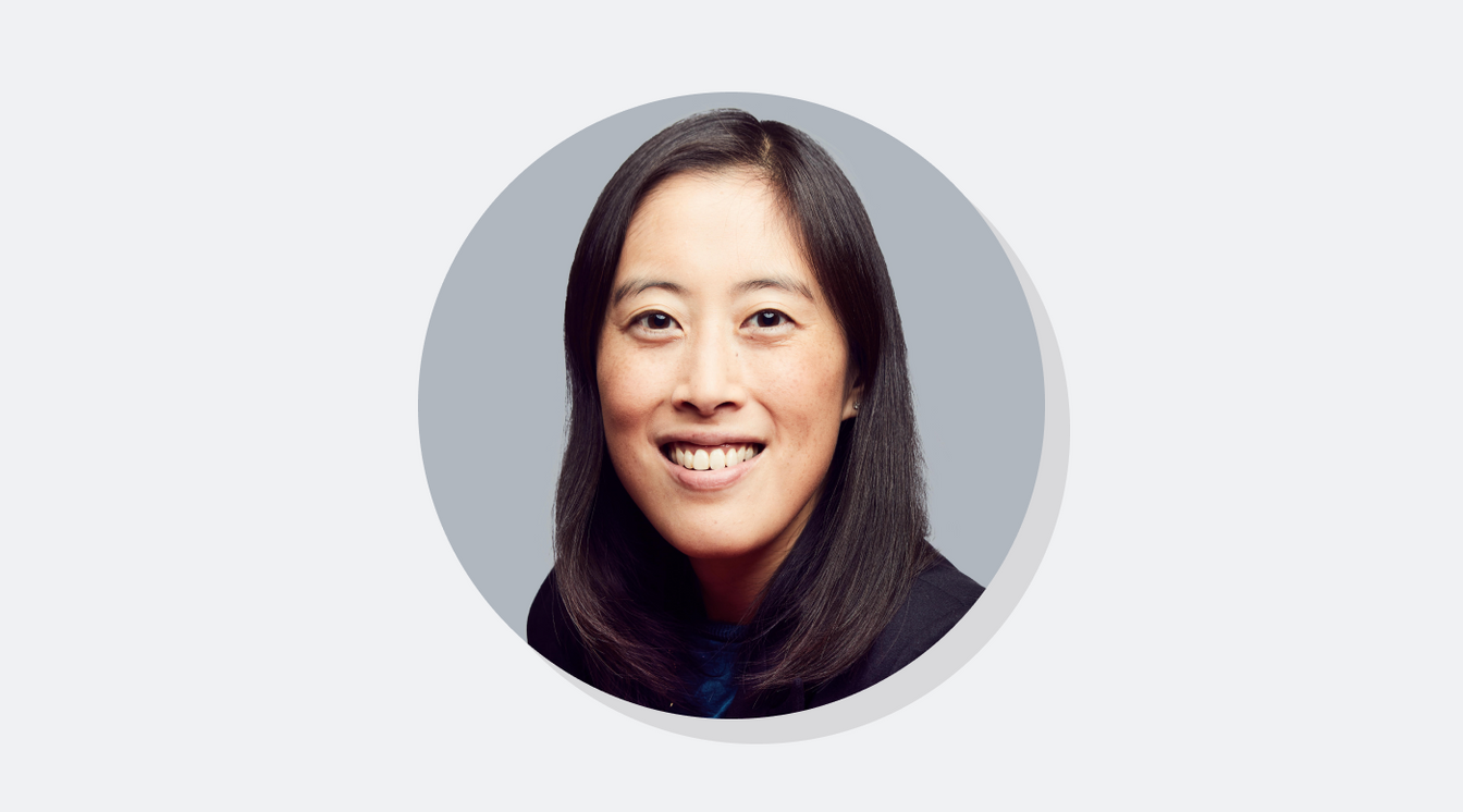 Portrait of Sandi Lin, CEO and co-founder of Skilljar
