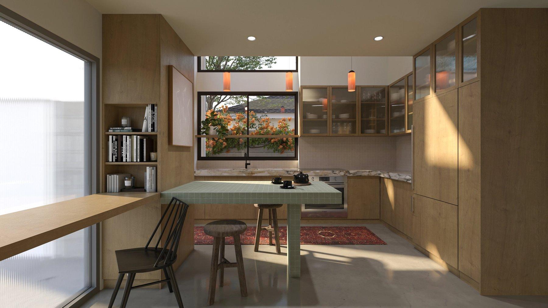 Efficient ADU Kitchen