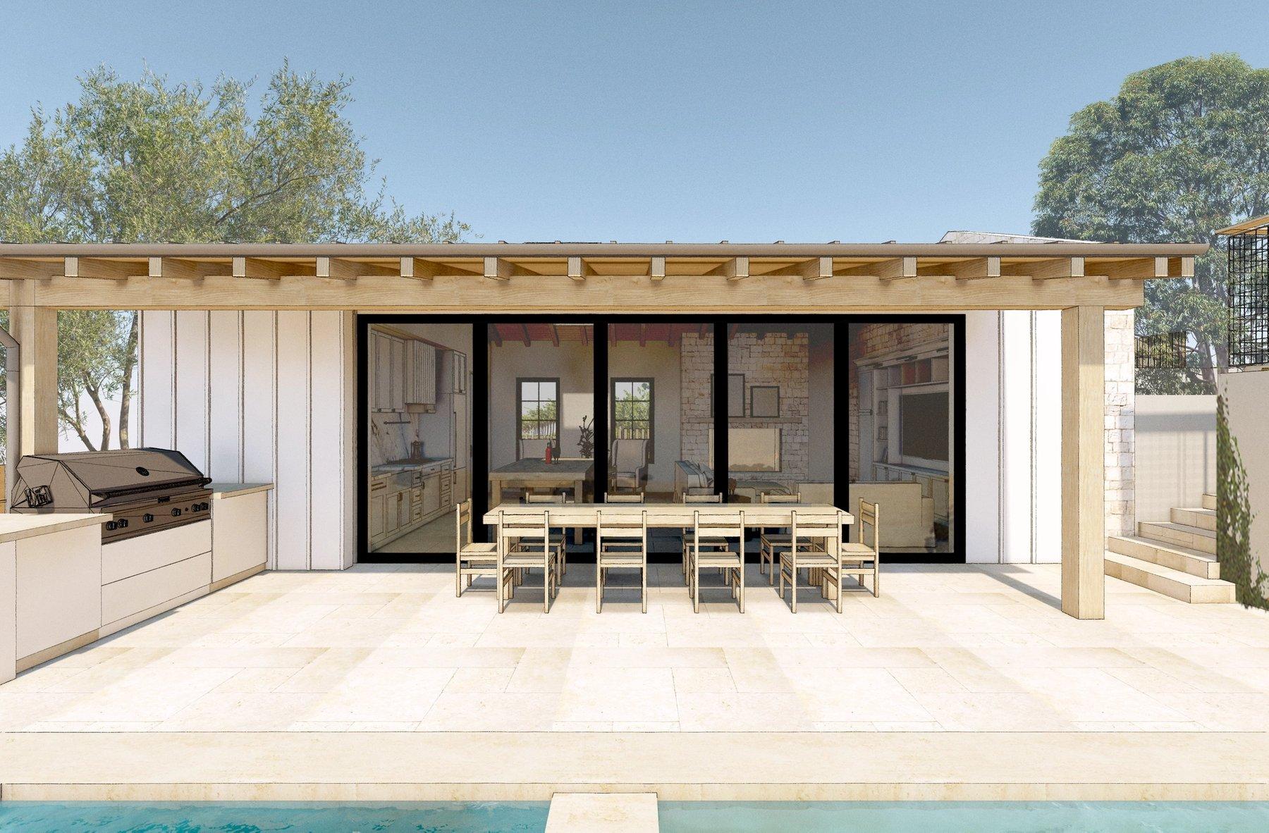 New Pool House