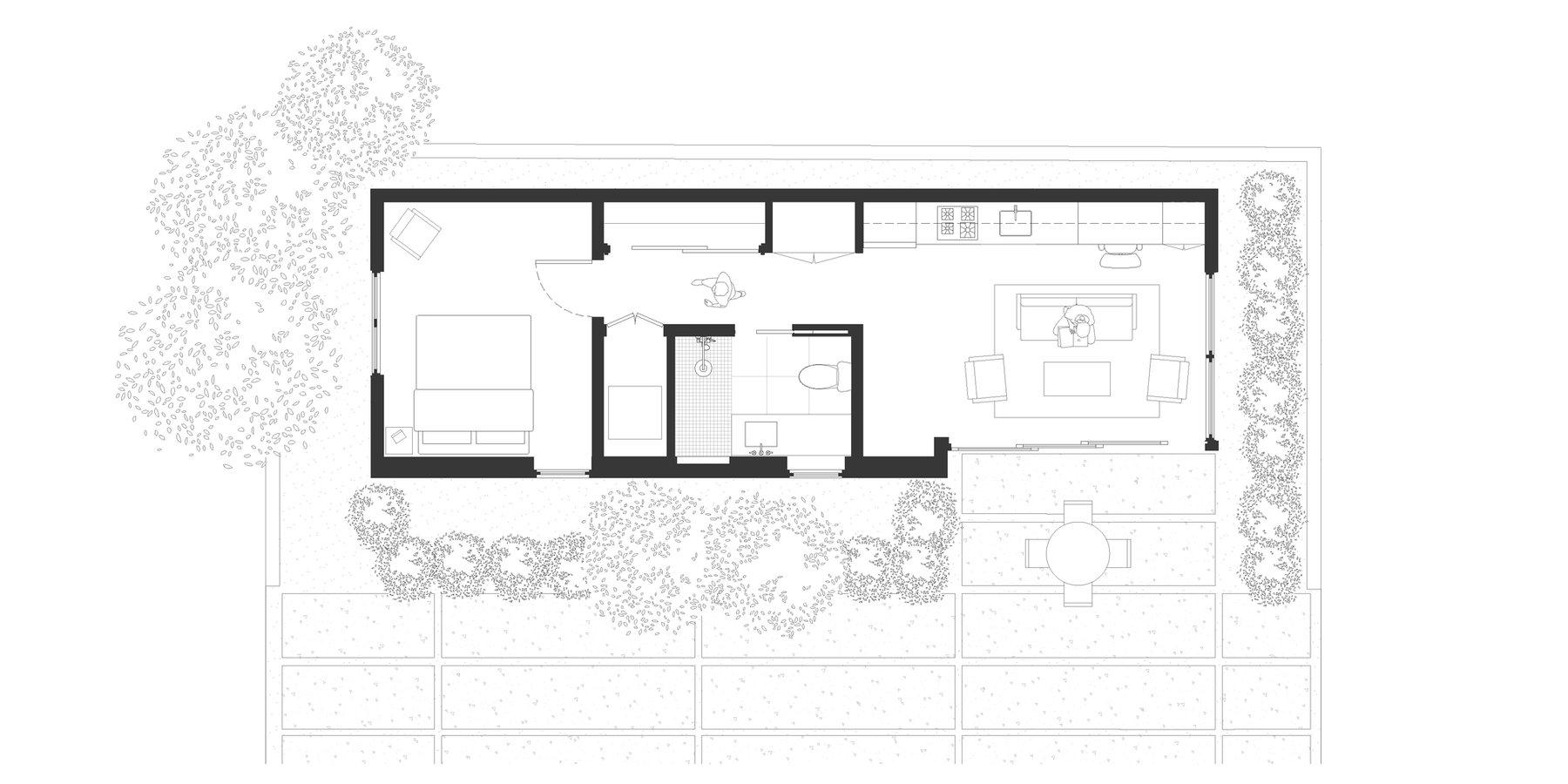Detached 1-bedroom ADU