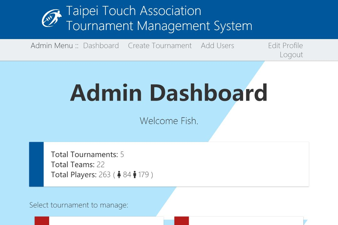 Image for tournaments for taipei touch