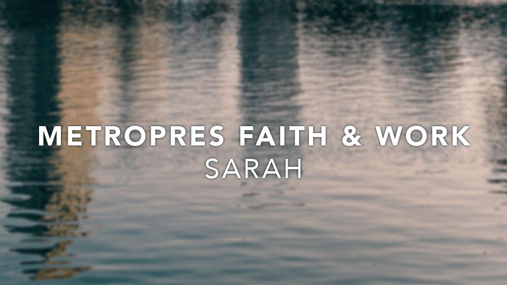 Metro Stories: Sarah