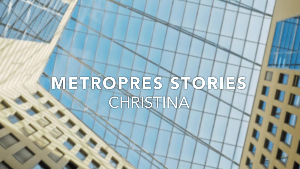 Metro Stories: Christina Lee
