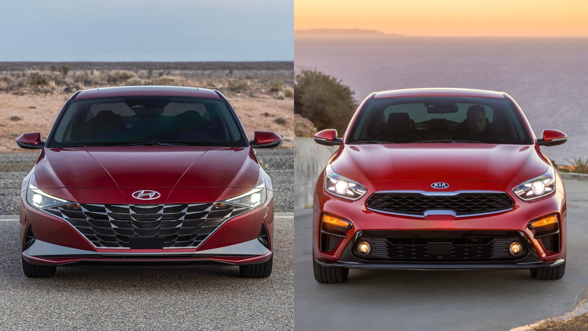 Hyundai Elantra vs Kia Forte