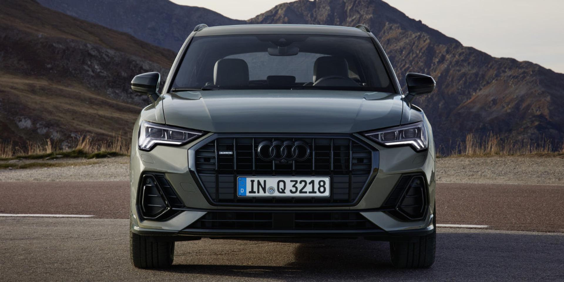 Audi Q3 front view