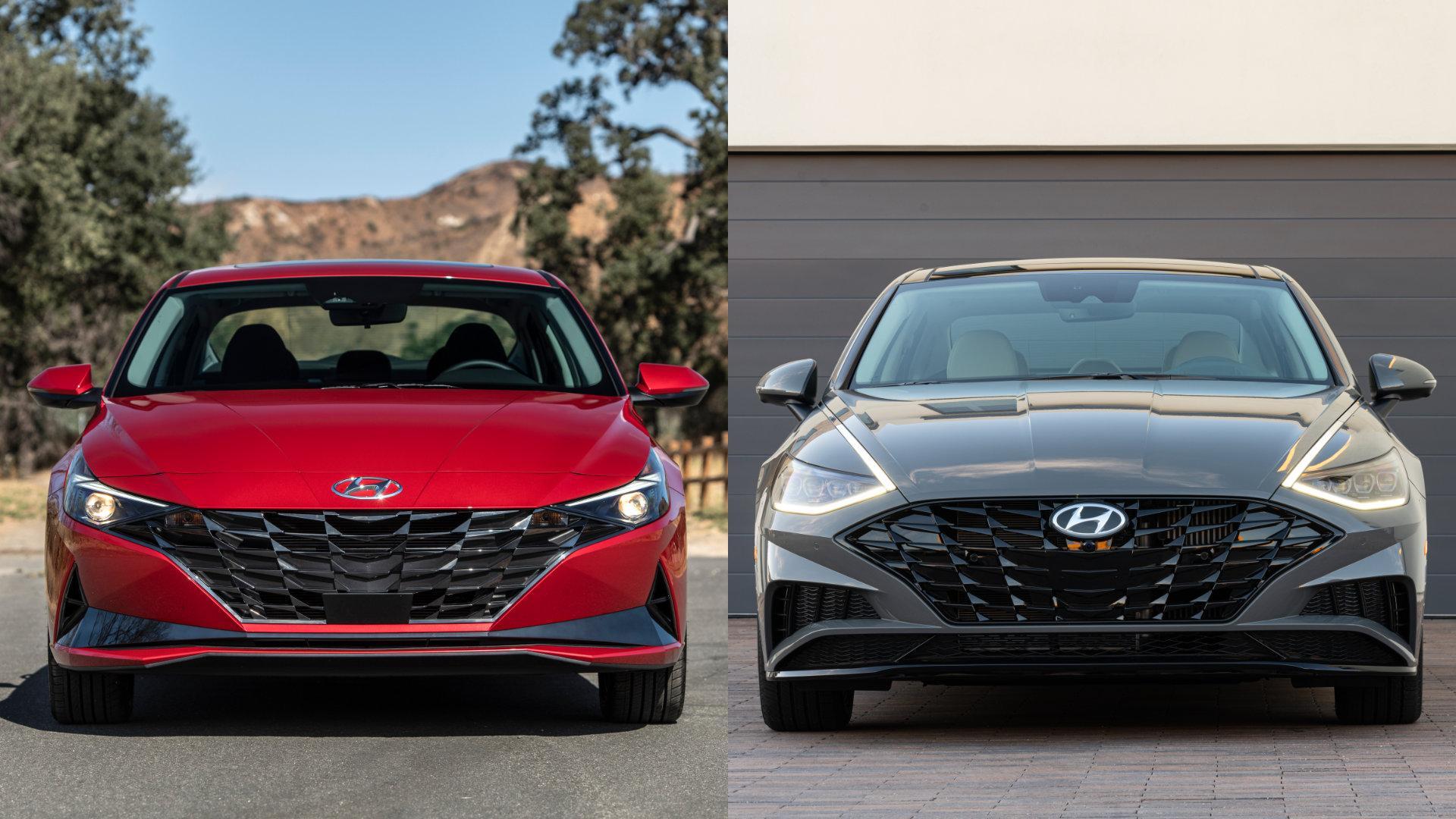 Hyundai Elantra vs Sonata