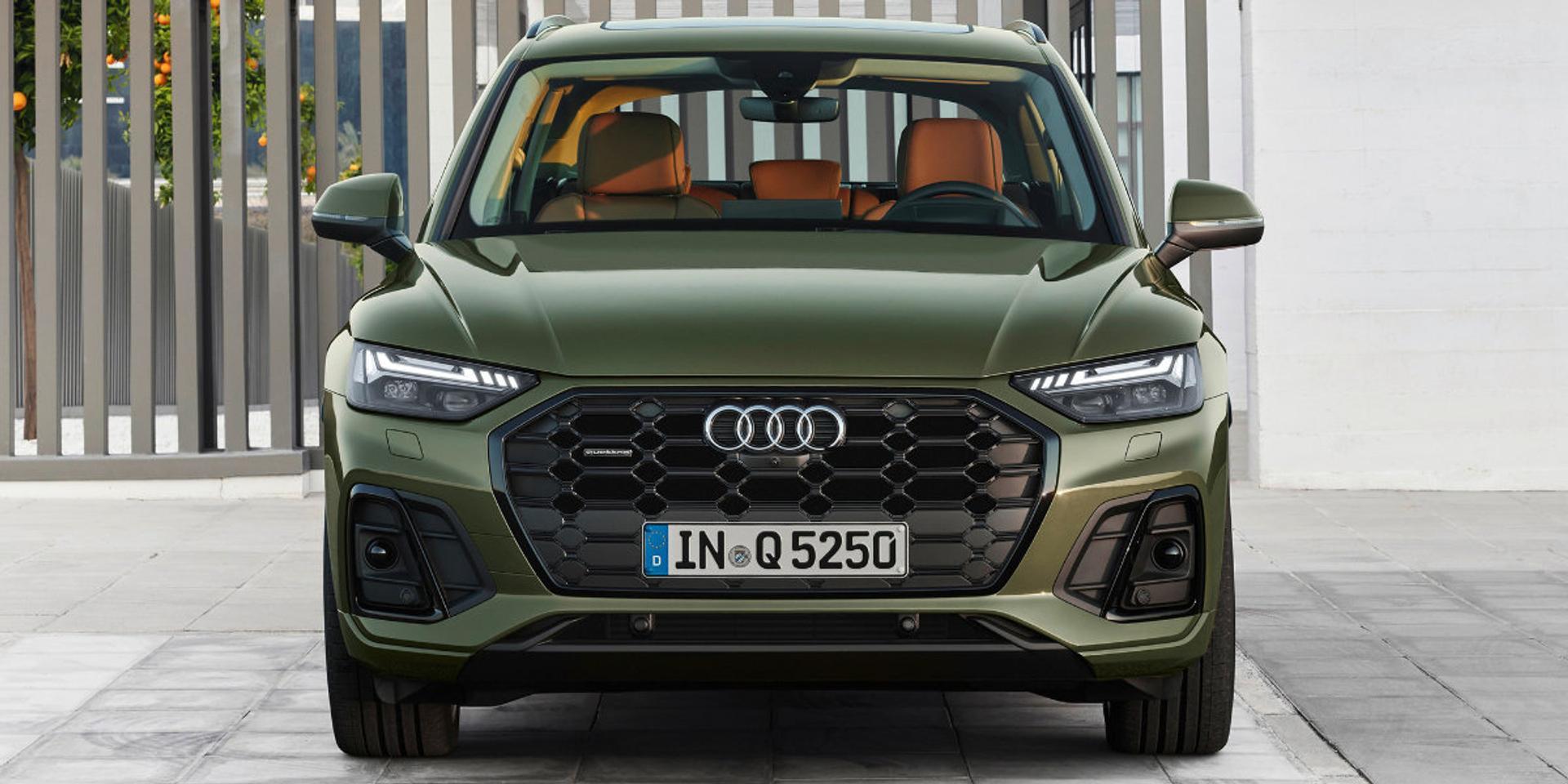 Audi Q5 front view