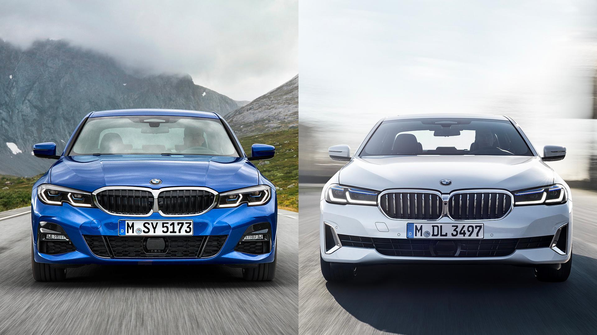 BMW 3 Series vs 5 Series
