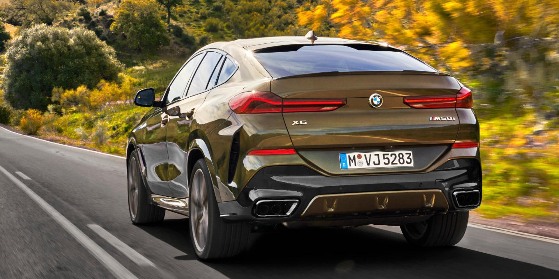 BMW X6 rear view