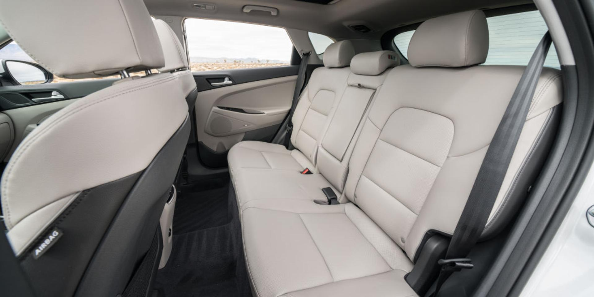 Hyundai Tucson rear seats