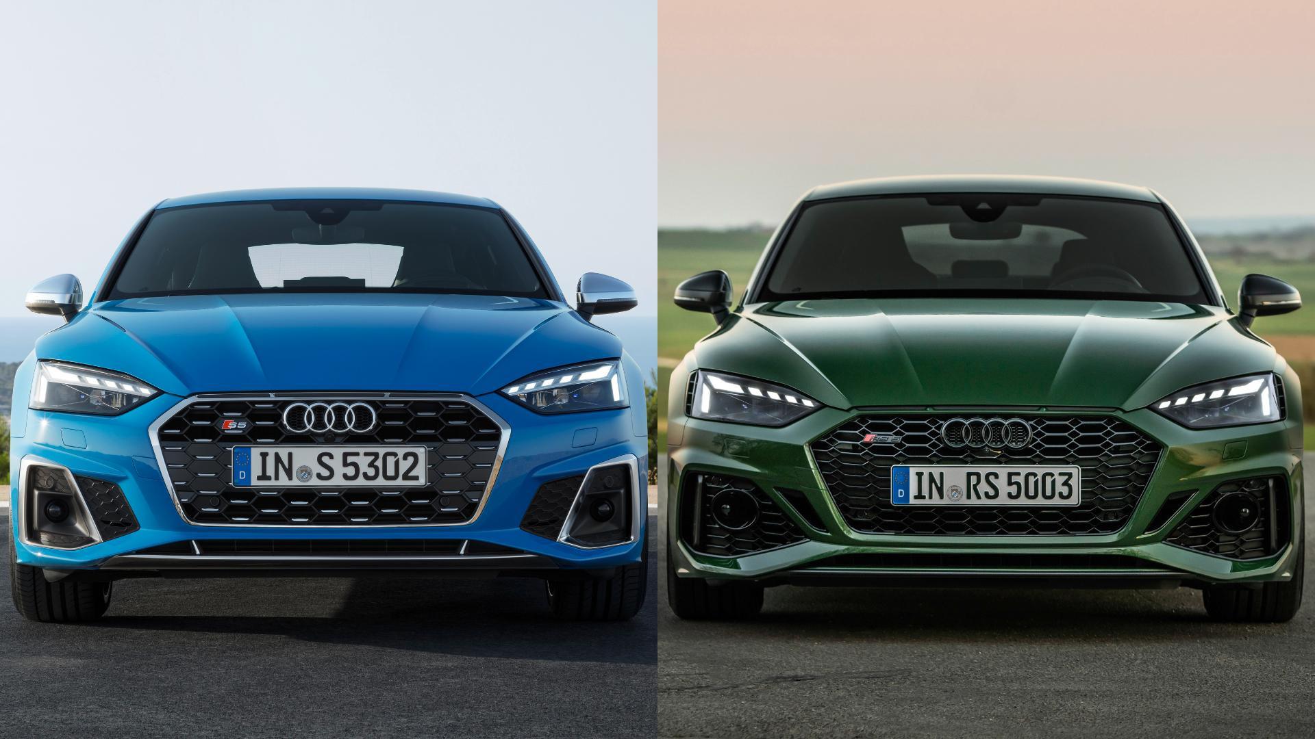 Audi S5 vs RS5