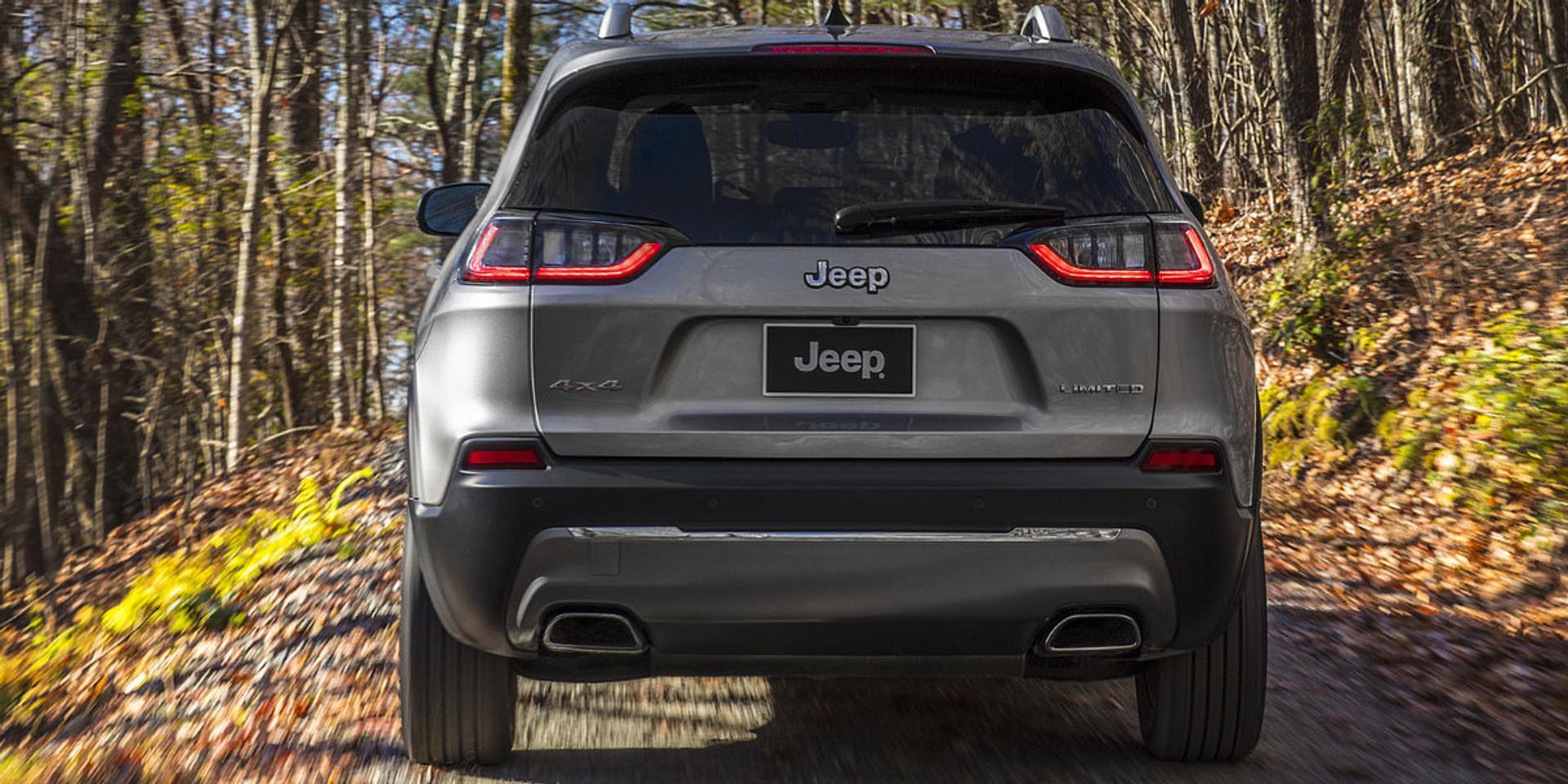 Jeep Cherokee rear view