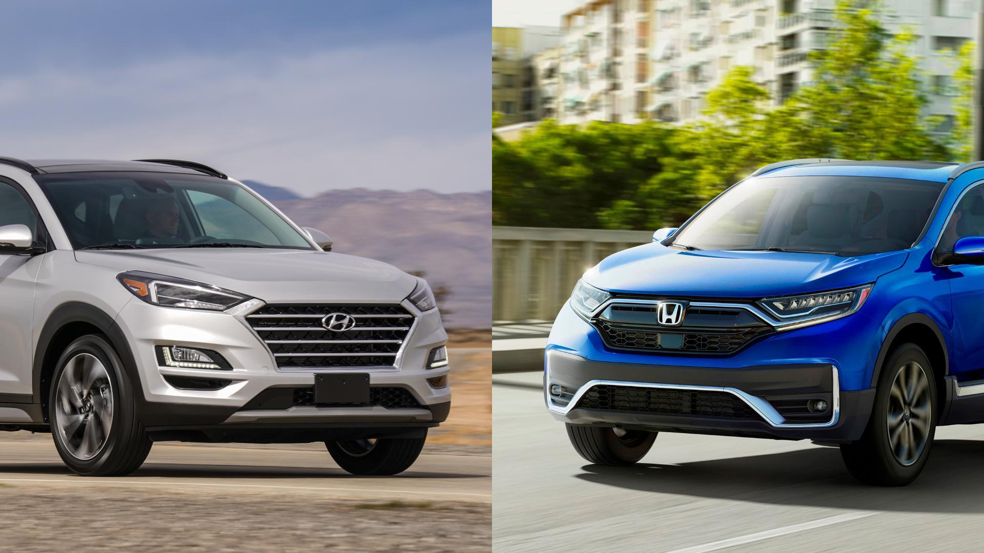 Hyundai Tucson vs Honda CR-V
