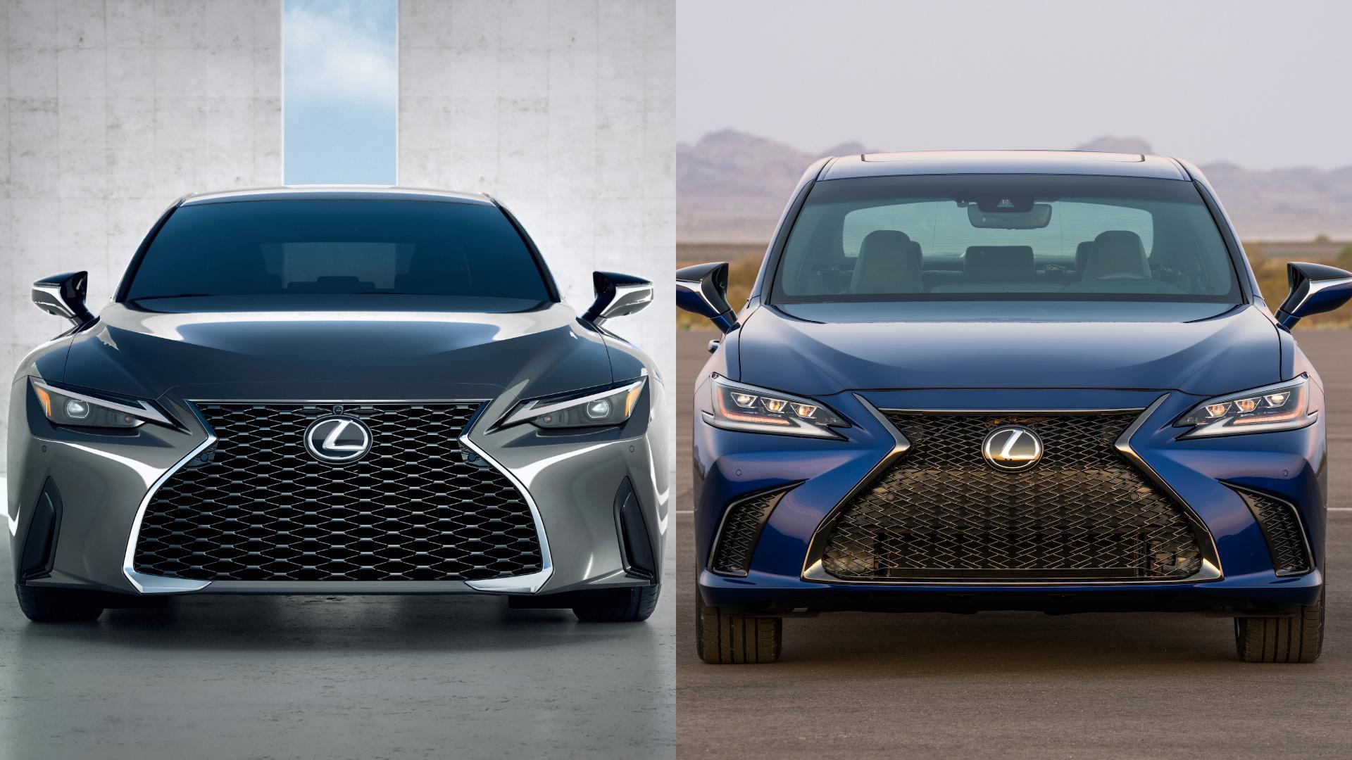 Lexus IS vs ES: Sportiness vs Comfort