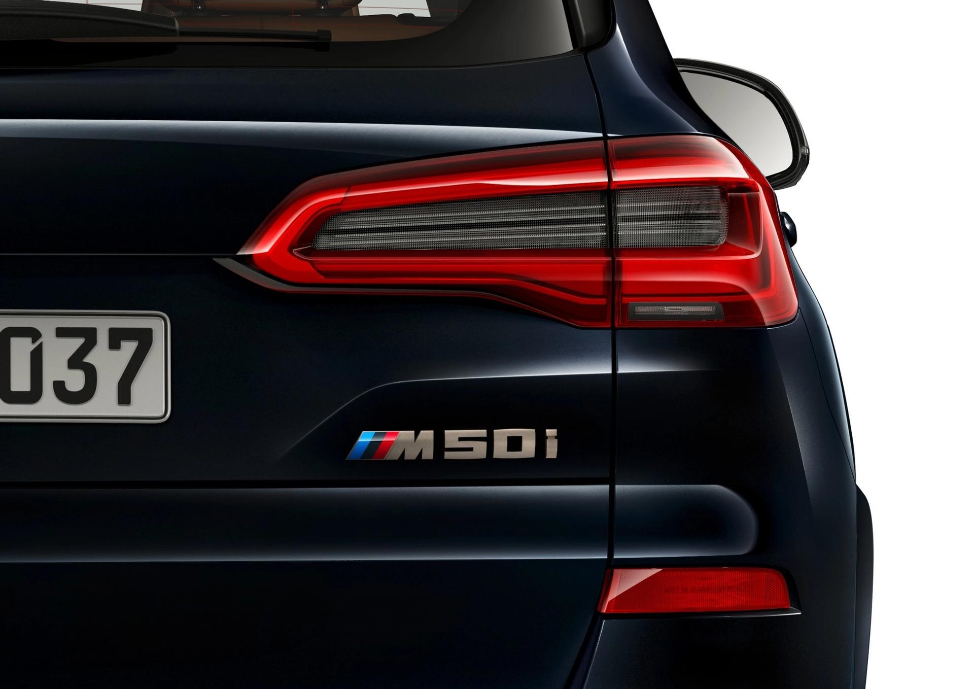 BMW X5 M50i rear taillight