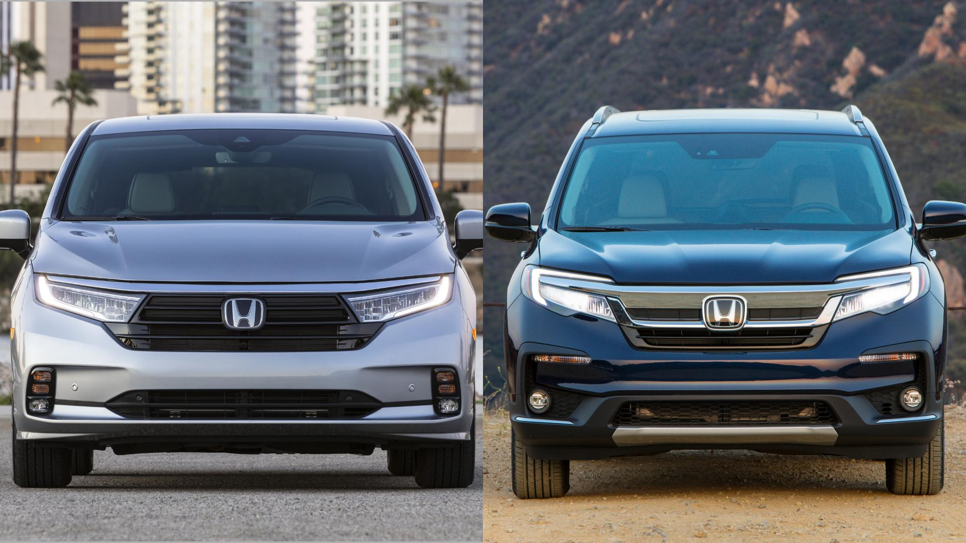 Honda Odyssey vs Honda Pilot: Is It Time To Consider A Minivan?