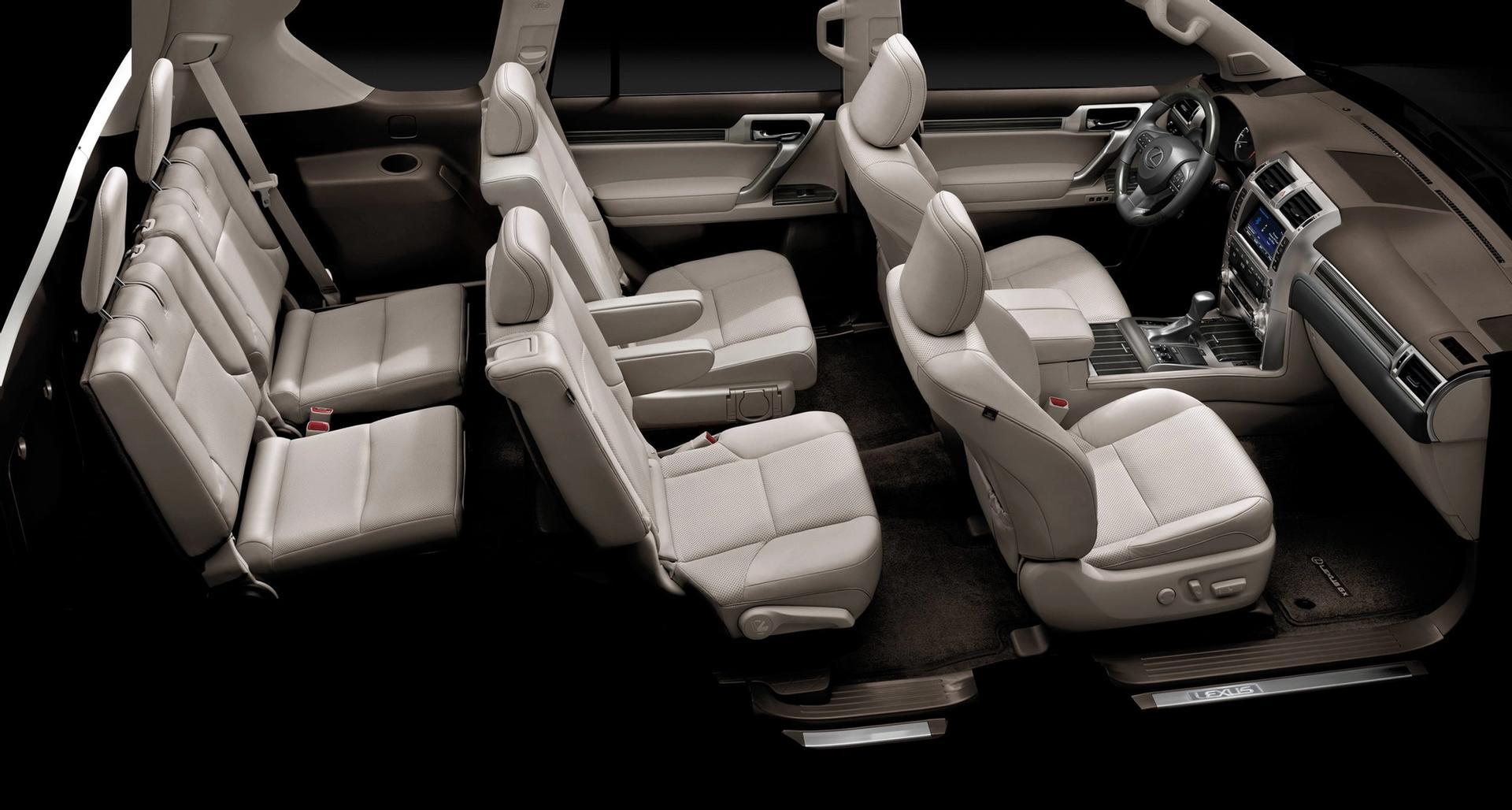 Lexus GX seating layout