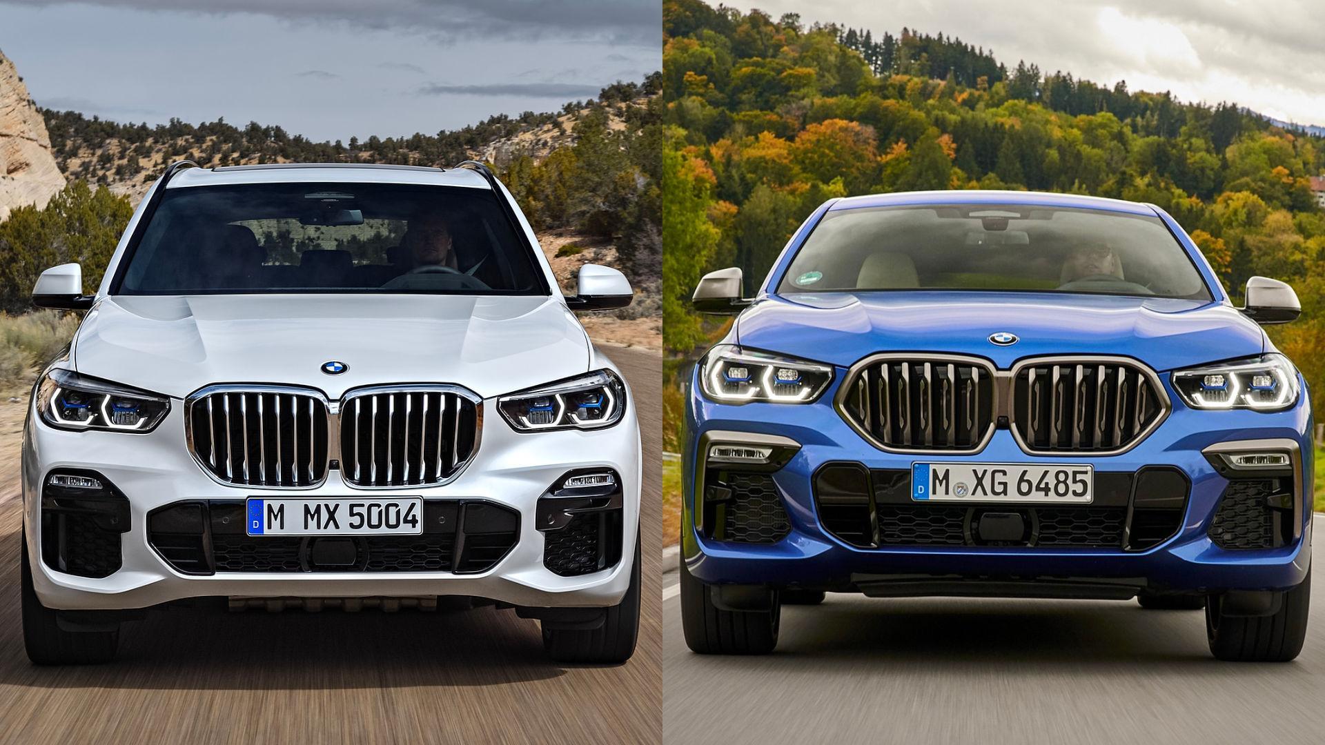 BMW X5 vs X6