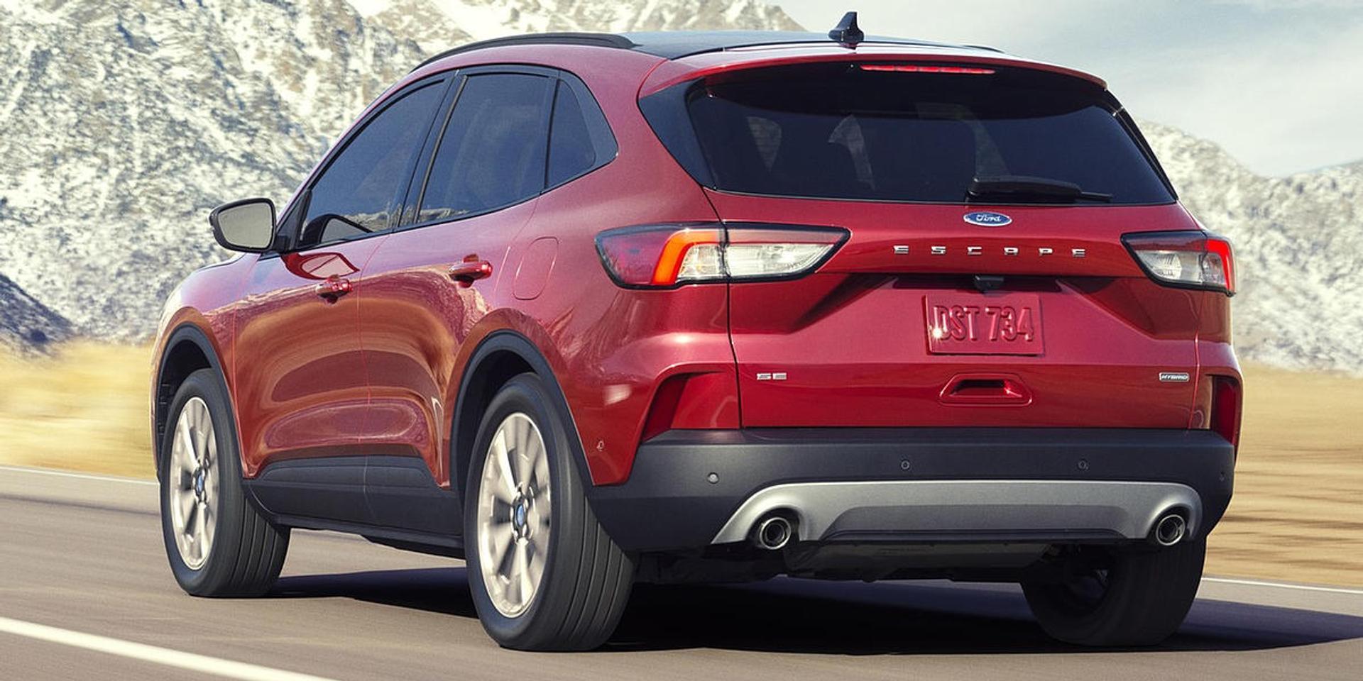 Ford Escape rear view