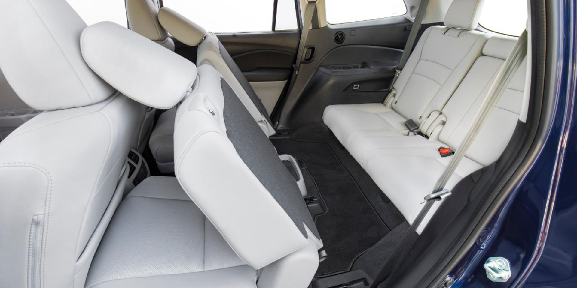 Honda Pilot rear passenger seating