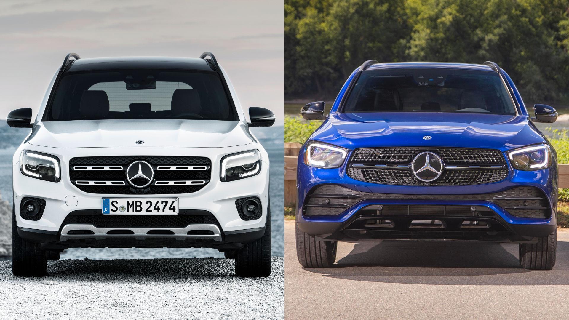 Mercedes GLB vs GLC