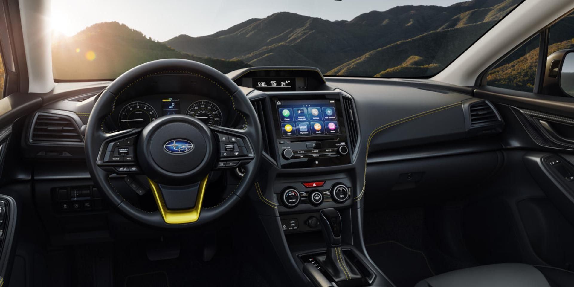 Subaru Crosstrek interior