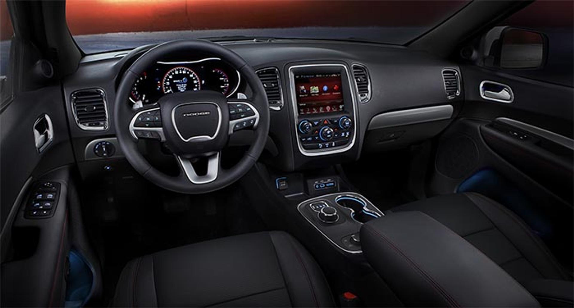 Dodge Durango interior