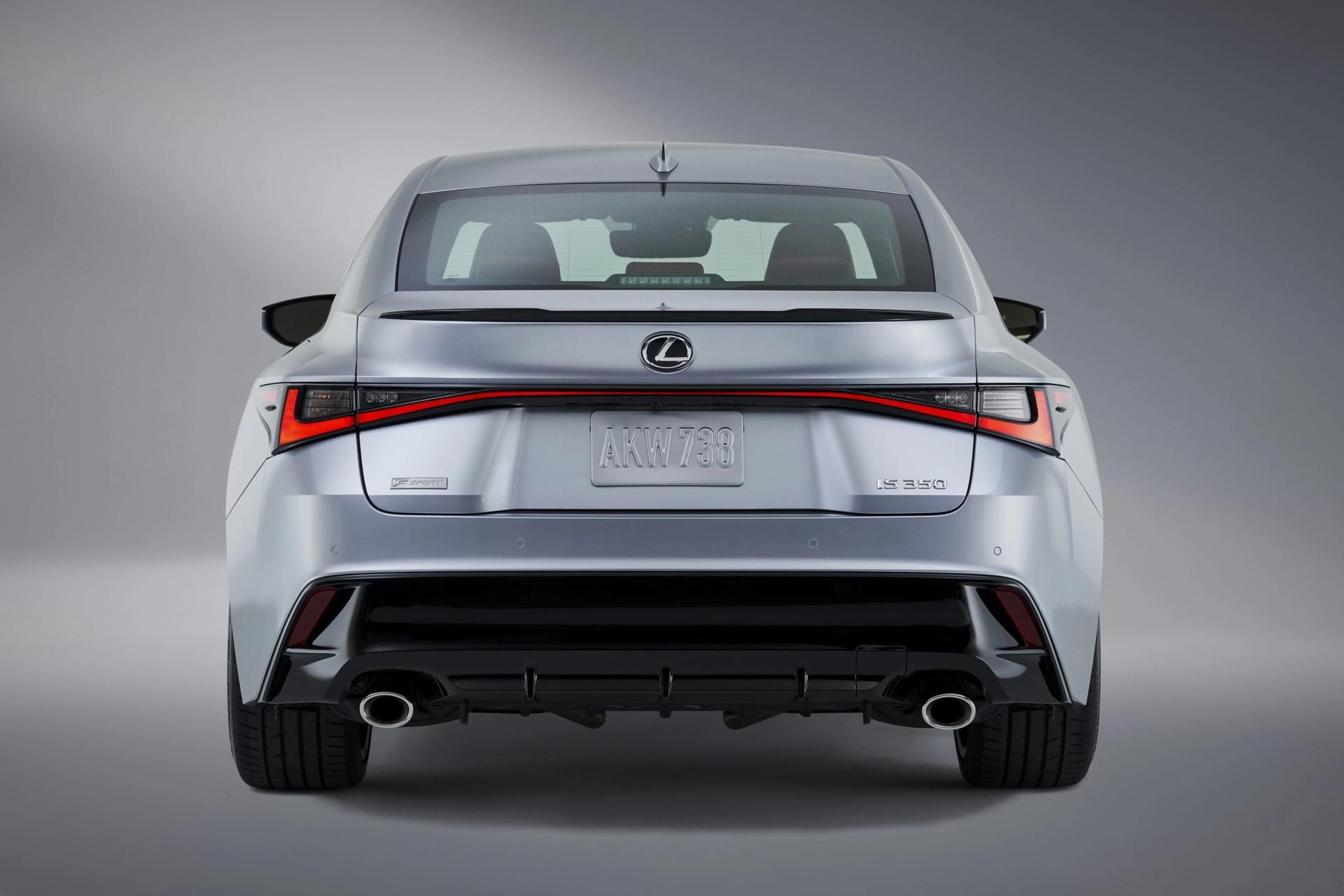 Lexus IS rear view