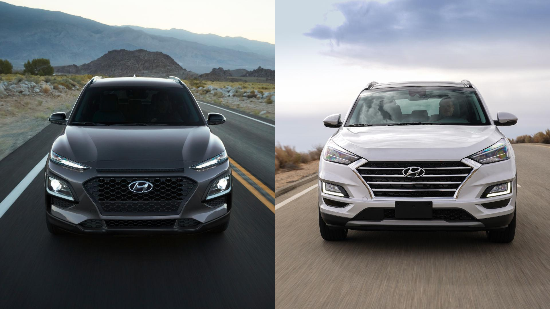 Hyundai Kona vs Tucson - Which crossover is for you?