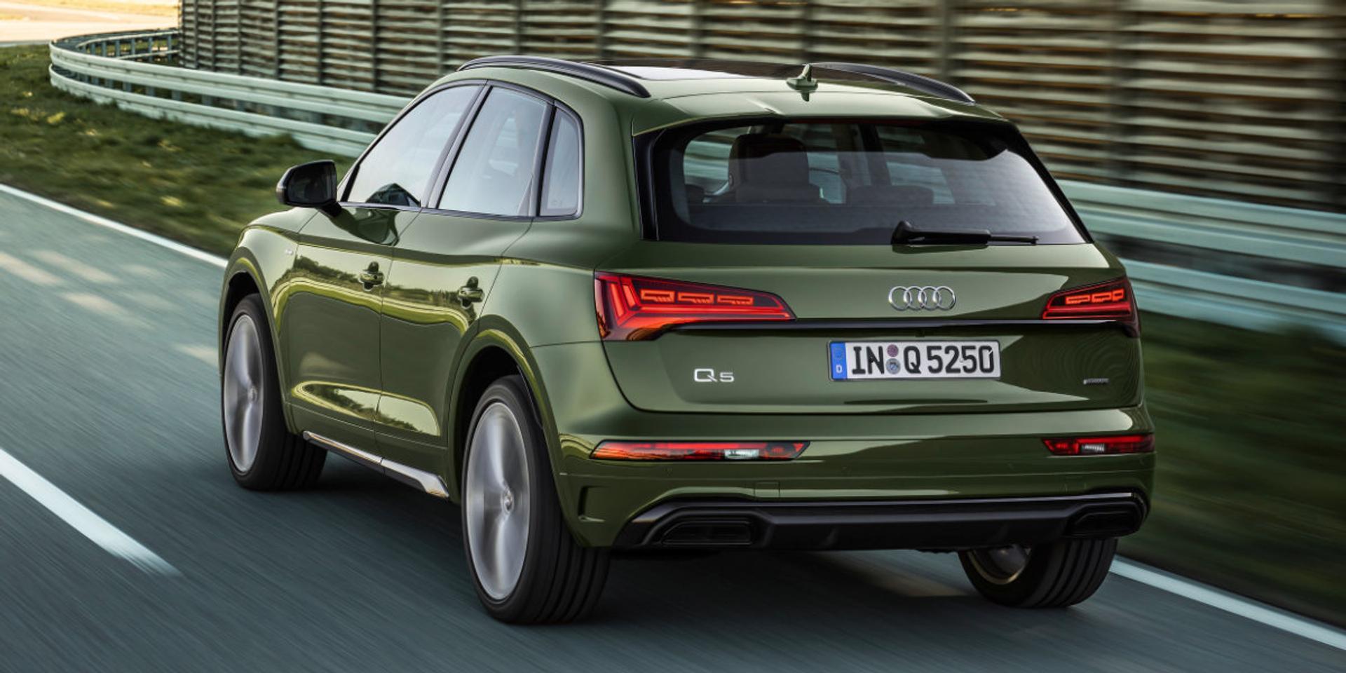 Audi Q5 rear view
