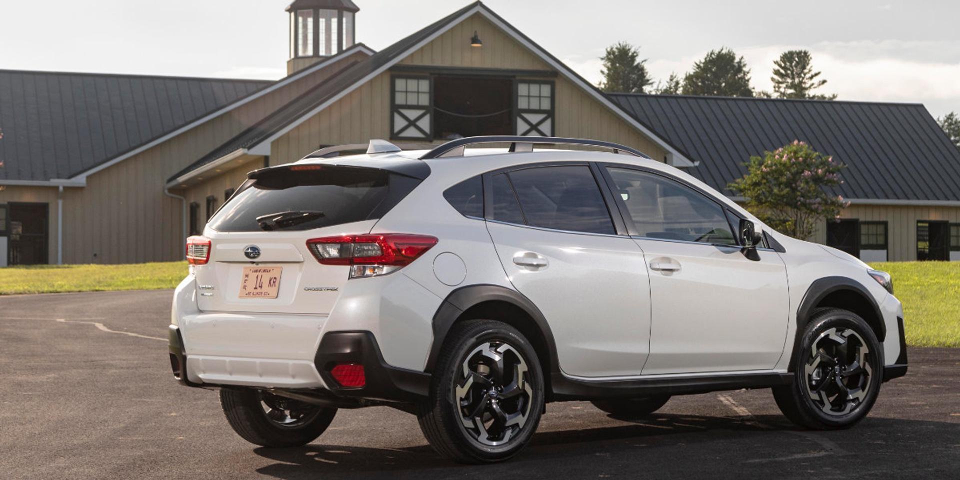 Subaru Crosstrek rear view