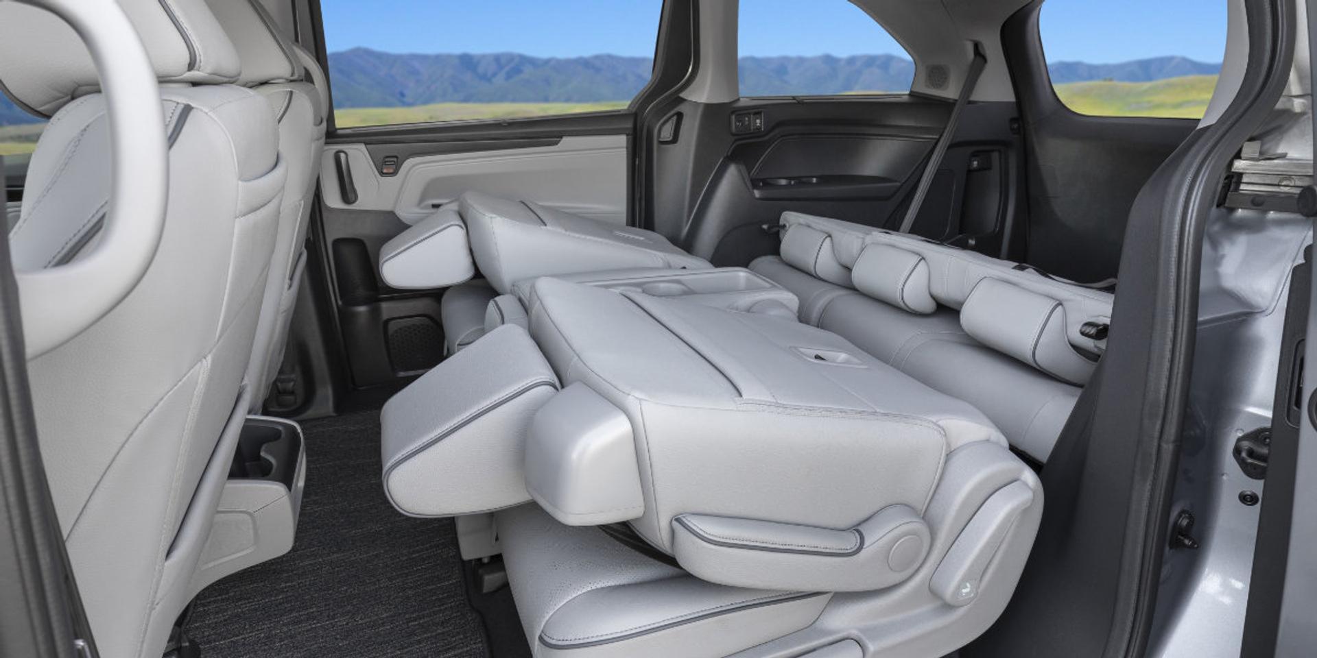 Honda Odyssey rear passenger seating