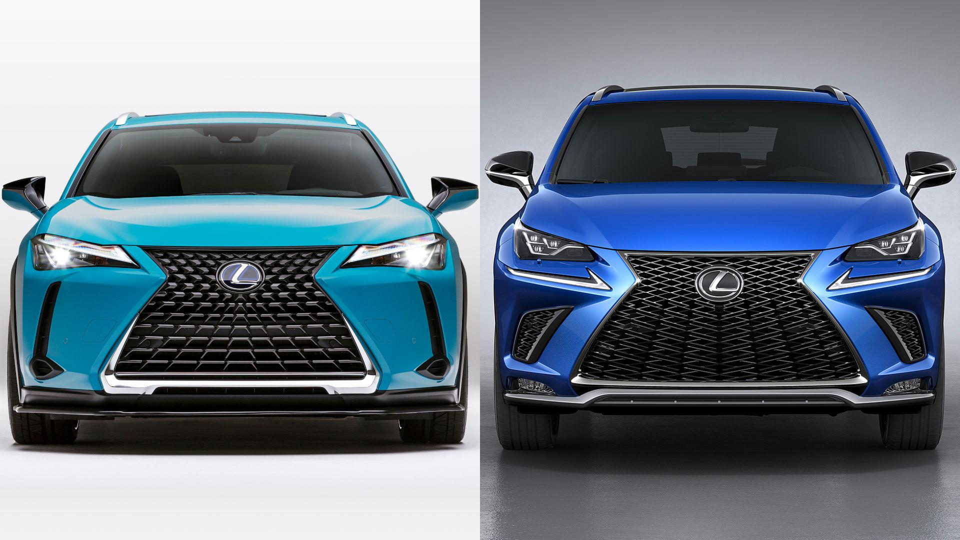 Lexus UX vs NX - What's the difference?